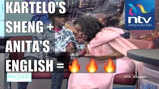 Kartelo's Sheng is on another level, and Anita Nderu loves it || The Wicked Edition