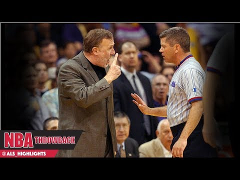 referees Full Highlights 2002 WCF Game 6 LAL vs Kings - Bad or Fixed?