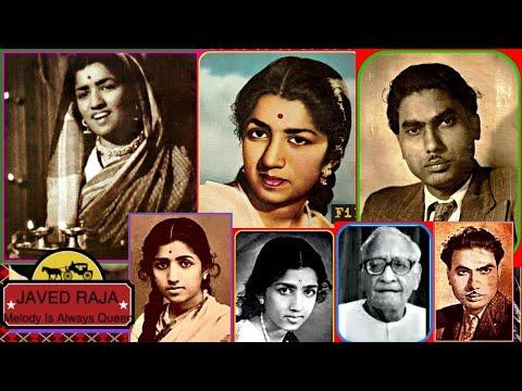 LATA JI-Film-ANMOL RATAN-{1950}(3 Songs)-(1.Tare Wohi Hain,(2.More Duwar Khule Hai,(3.Dard Mila