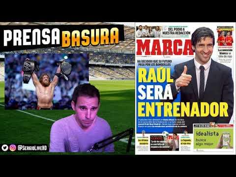 LEWANDOWSKI AL REAL MADRID según AS + PARTIDAZOS DE SELECCIONES | PORTADAS #PRENSABASURA