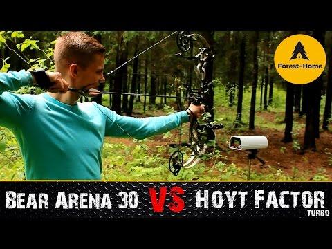 Тест луков: Bear Arena 30 и Hoyt Factor Turbo от Forest-Home.ru