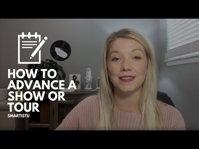 How To Advance A Show Or Tour