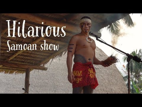 Funny Samoan show at the Polynesian cultural centre 2019 | FULL SHOW