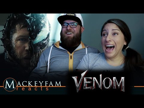 VENOM - Official Trailer 2- REACTION and REVIEW!!!