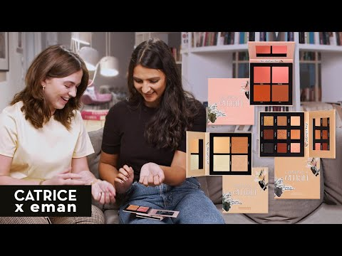 NEUE Online Exclusive Paletten // CATRICE x eman // SWATCHES thumbnail