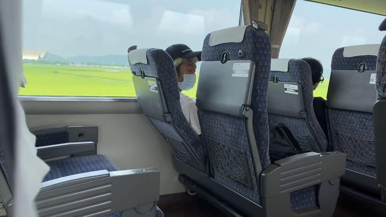 新幹線で梅谷を盗撮してたらヤバイ事してた。