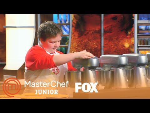 Andrew Is A Tornado In The Kitchen   Season 3 Ep. 2   MASTERCHEF JUNIOR