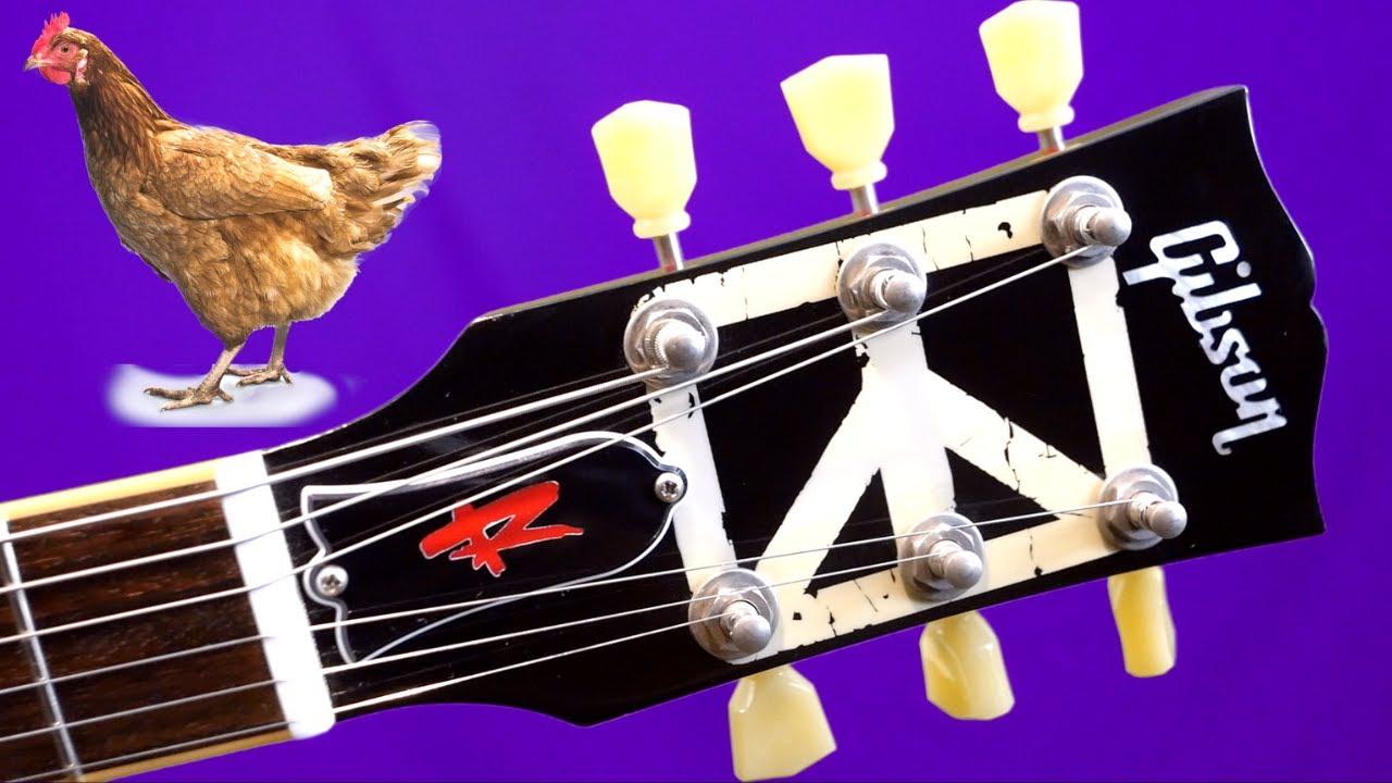 A Controversial Headstock Design | 2010 Gibson Sammy Hagar Signature Les Paul Standard Red Rocker