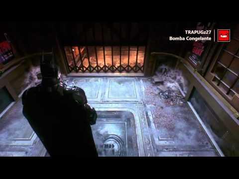 Batman Arkham Knight - Bomba Congelante Guia de localizacion