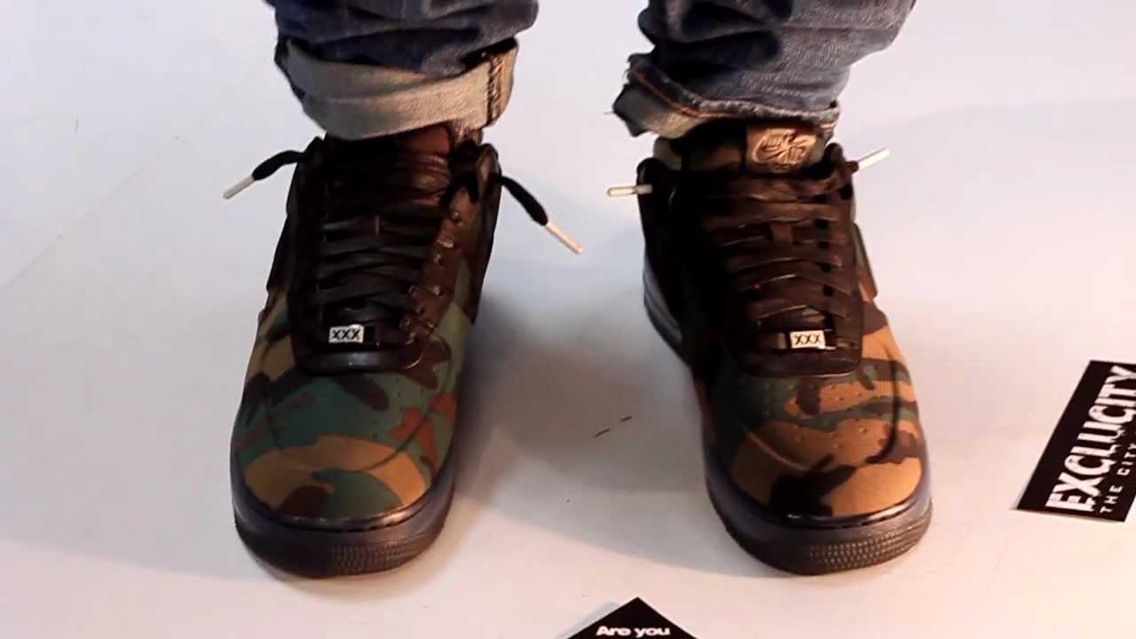 Low Qs Nike Vt Blk Camo Air Max Force 1 xedBroC
