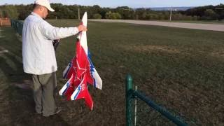 RC EDF Mig-29 with thrust vectoring and acrobatic flying!!!