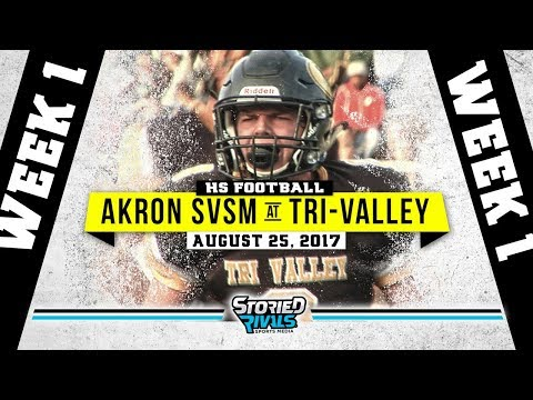 HS Football | St. Vincent St. Mary at Tri-Valley [8/24/17]