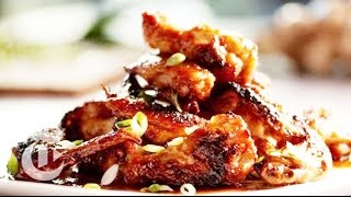 Chicken Wing Recipe: A Mix Of Spicy And Crunchy | The New York Times