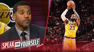 Jim Jackson questions LeBron's leadership in Lakers' loss to the Rockets | NBA | SPEAK FOR YOURSELF
