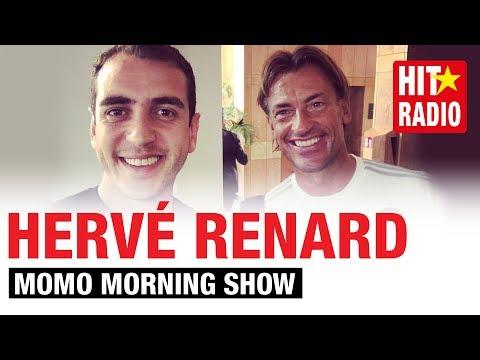 HERVÉ RENARD EN EXCLU AVEC MOMO AVANT LA RENCONTRE -  هيرفي رونار حصريا مع مومو قبل المباراة