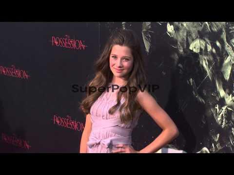 Natasha Calis at The Possession Los Angeles Premiere 828...