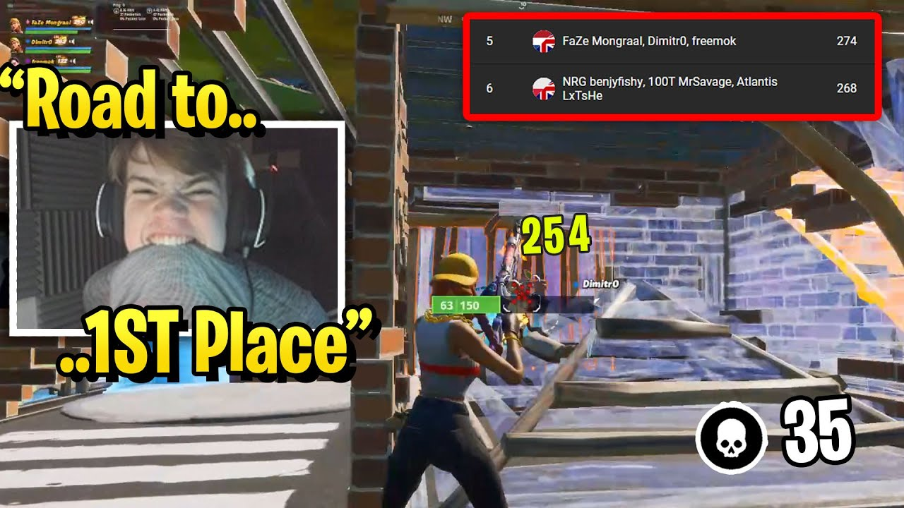 Download Mongraal Trio SURPASSED Benjyfishy Trio & Road to 1ST Place in Daily Trio Cup!