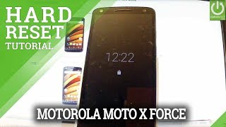 How to Reset MOTOROLA Moto X Force - Hard Reset / Restore