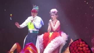 張敬軒 王菀之 - 友誼的小船 @ The Magical Teeter Totter演唱會2017 2017-02-17