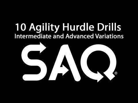 10 Agility Hurdle Drills And Advanced Variations.