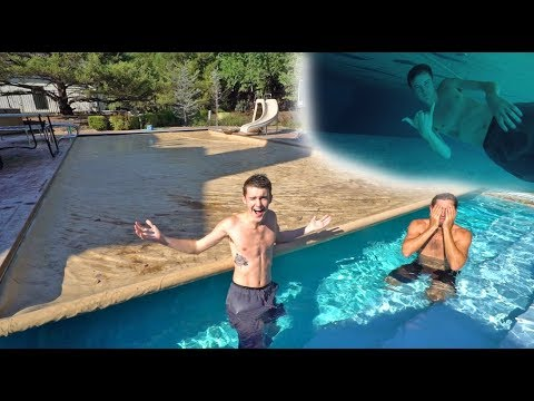 Thumbnail: SWIMMING UNDER THE COVER CHALLENGE! *TRY NOT TO DROWN*