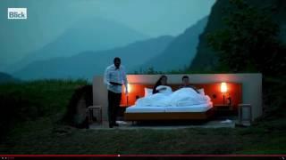 بالفيديو: فندق في جبال الألب يضم سريراً واحداً فقط