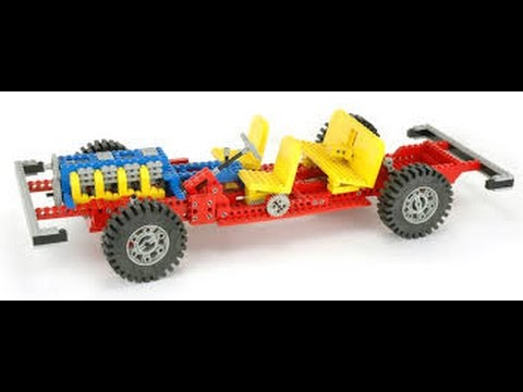 Lego Technic 853 Building Instructions Year 1977 Youtube