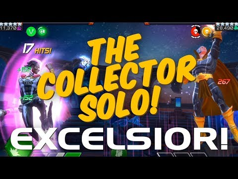 Excelsior! The Collector Solo - R4 Dr. Voodoo vs. The Collector Boss (w/ Tips & Masteries) | MCoC