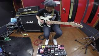 """tricot - How to play """"Melon Soda"""" on Guitar"""