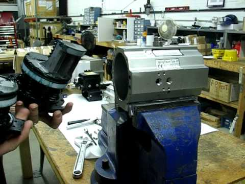 Changing Rotation Of Radius Rack And Pinion Pneumatic