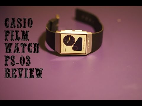 Casio Film Watch FS 03 Review thumbnail