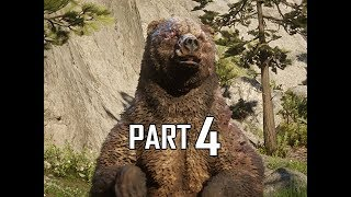 Red Dead Redemption 2 Walkthrough Gameplay Part 4 - Scarred Bear (RDR2 Let's Play)