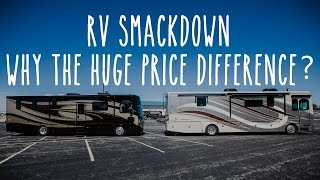 RV Smackdown - Excursion vs Discovery, Why The Big Price Difference?