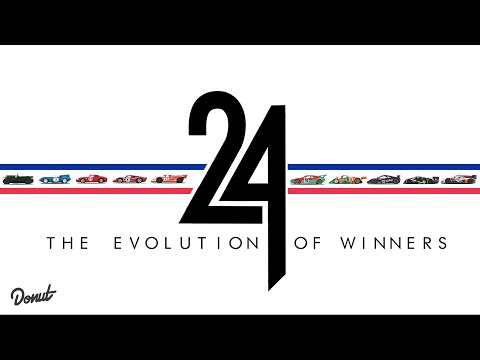 Evolution of Winning Race Cars: 24 Hours of Le Mans | Donut Media