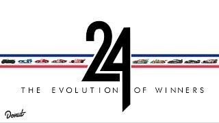 فيديو تطور السيارات الفائزة بسباق لومان للـ24 ساعة منذ 1924 وحتى 2014