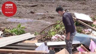 Así quedó la zona tras el colapso de la presa de Brumadinho en Brasil