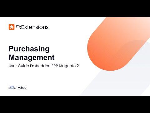 Magento 2 ERP Extension