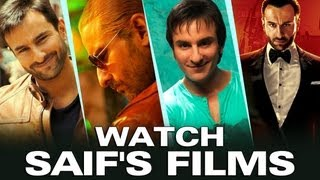 Mashup of Saif Ali Khan in Cocktail, Love Aaj Kal, Agent Vinod