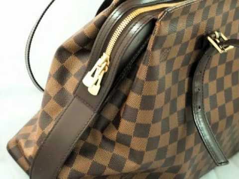 Authentic Designer Handbag -- Louis Vuitton Damier Ebène Chelsea
