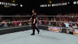 WWE 2K18 Nia Jax vs The Iconic Duo