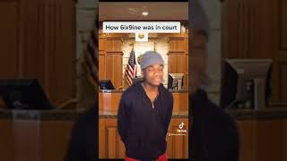How 6ixnine was in court :