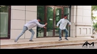 Dubstep dance featuring Aman & Ippi || The AIM