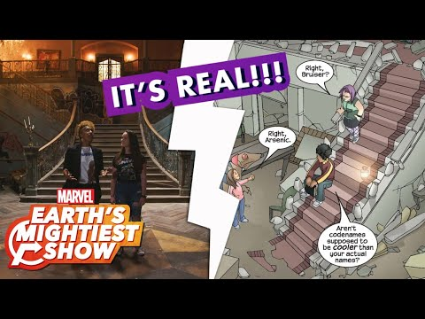 """Marvel's Runaways"" Season 2 Behind-the-Scenes Set Tour 