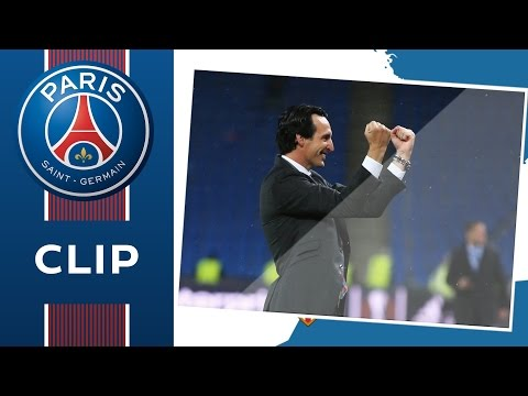WELCOME UNAI EMERY au Paris Saint-Germain #WELCOMECOACH