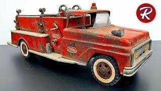 1960s Tonka Fire Truck Restoration