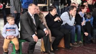 Репортаж с городских соревнований по гимнастике. Киев. 21 февраля 2015 г.