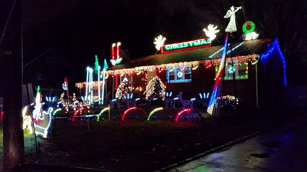 Christmas Lights, Scotch Plains, New Jersey