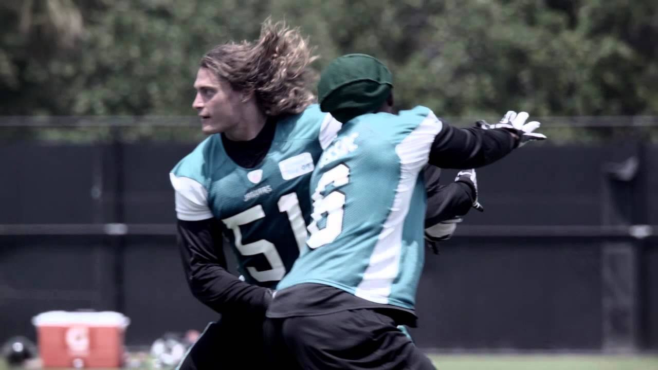 Jacksonville Jaguars ALL IN Paul Posluszny