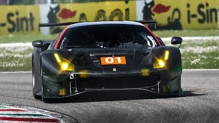 [3D Binaural Audio] Ferrari 488 GTE Evo and Ford GT LM (WEC & IMSA) testing! April 2019
