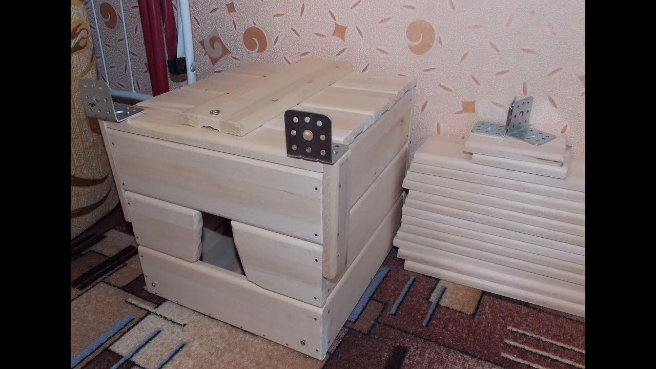 Домик для корелл. Гнездовой ящик для корелл 8